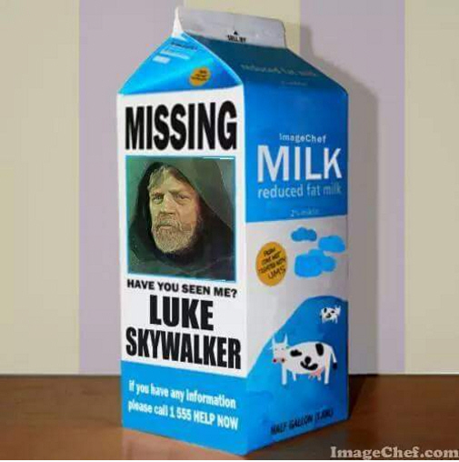 Luke Skywalker missing