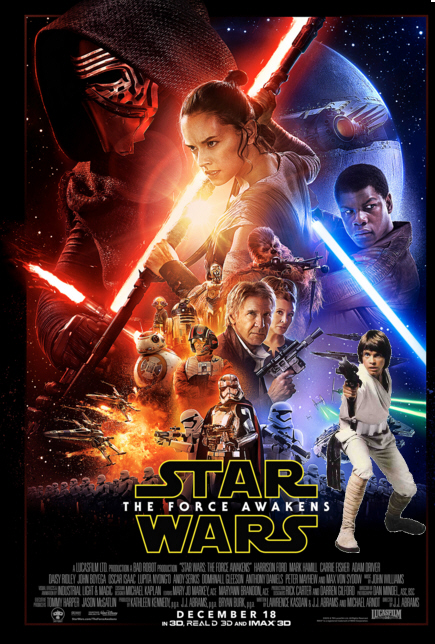Luke IS in the Star Wars poster
