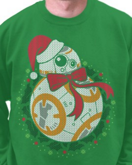 BB8 ugly xmas sweater