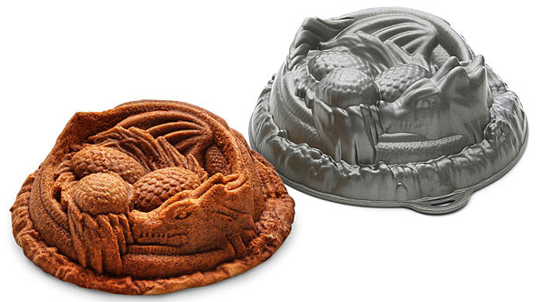 dragon cake pan game of thrones