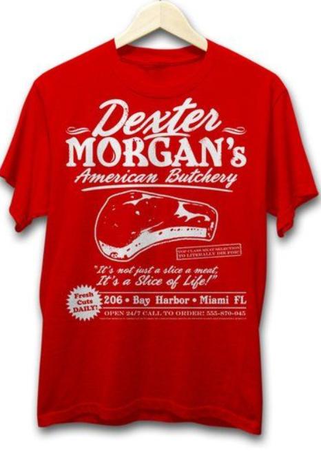 Dexter Butchery tshirt