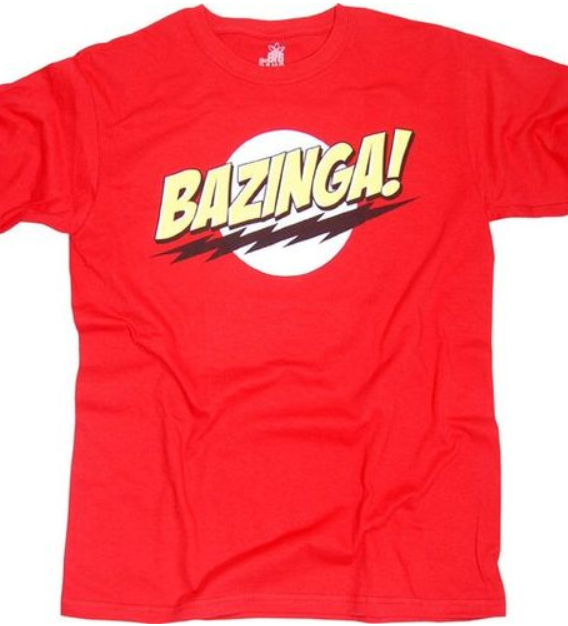 The Big Bang Theory tshirt