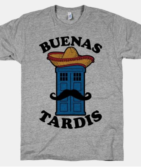 Doctor Who tshirt for Father's day