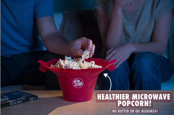 popcorn microwavable bucket